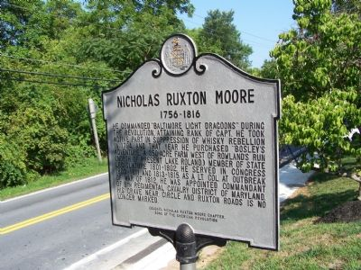Nicholas Ruxton Moore Marker image. Click for full size.