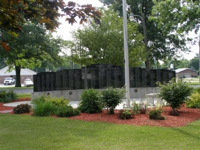 Community Veterans Memorial (on the grounds) image. Click for full size.