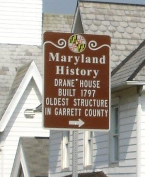 Maryland History - Drane House Marker image. Click for full size.