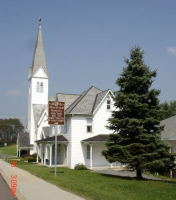 Marker And the Zion Lutheran Church image. Click for full size.