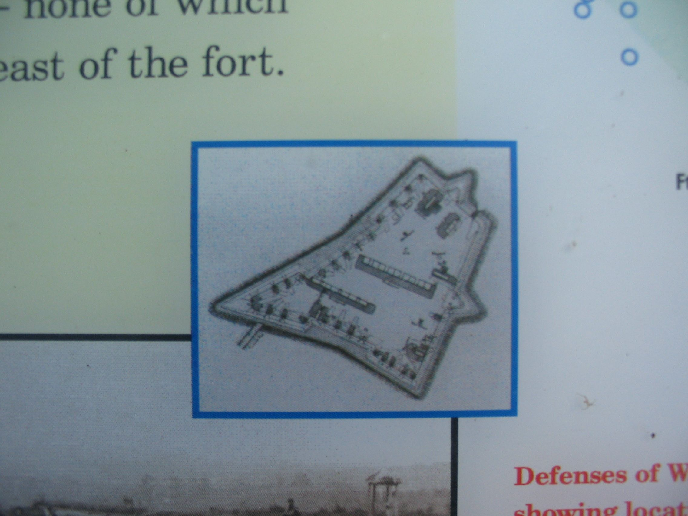Plan of the Fort