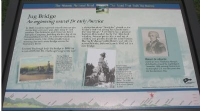 Jug Bridge Marker image. Click for full size.