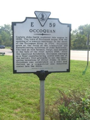 Occoquan Marker image. Click for full size.
