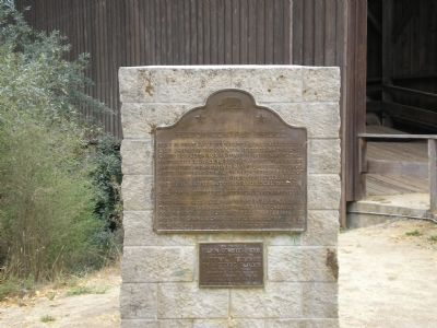 State Historic Landmark Plaque #583 image. Click for full size.