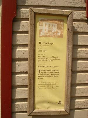 The Tin Shop Marker image. Click for full size.