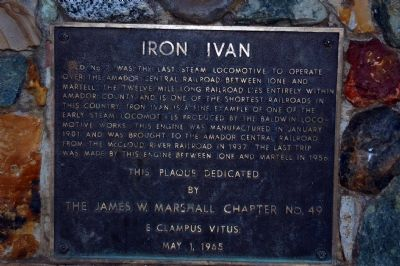 Iron Ivan Marker image. Click for full size.