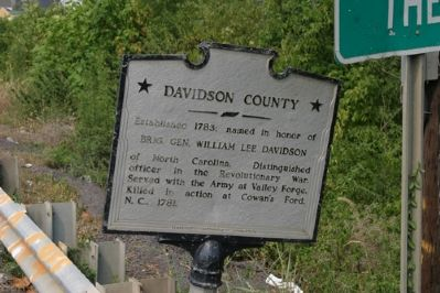 Davidson County - Taken Facing West image. Click for full size.