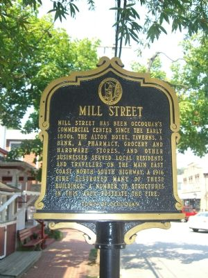Mill Street Marker (Obverse) image. Click for full size.