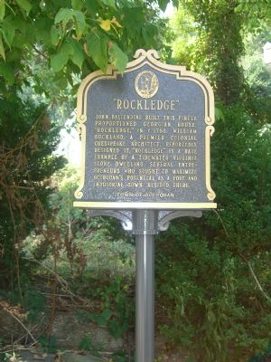Rockledge Marker image. Click for full size.