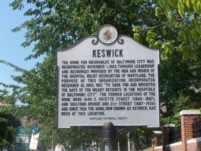 Keswick Marker image. Click for full size.