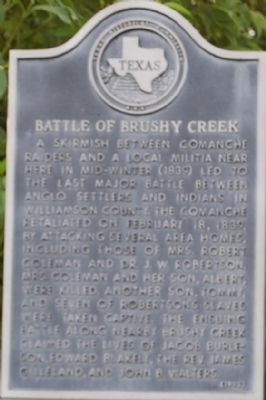 Battle of Brushy Creek Marker image, Touch for more information