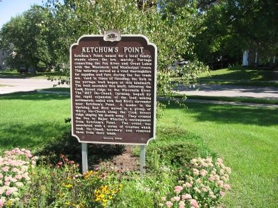 Ketchum's Point Marker image. Click for full size.