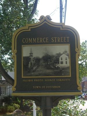 Commerce Street Marker (Reverse) image. Click for full size.