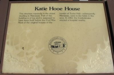 Katie Hooe House Marker image. Click for full size.