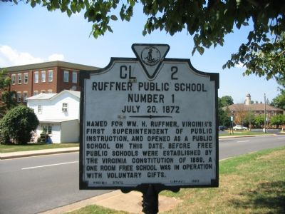 Ruffner Public School Marker image. Click for full size.