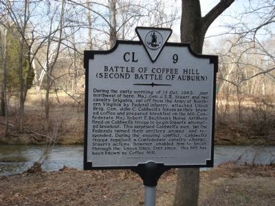 Battle of Coffee Hill Marker image. Click for full size.