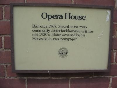 Opera House Marker image. Click for full size.