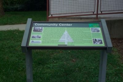 Community Center Marker image. Click for full size.