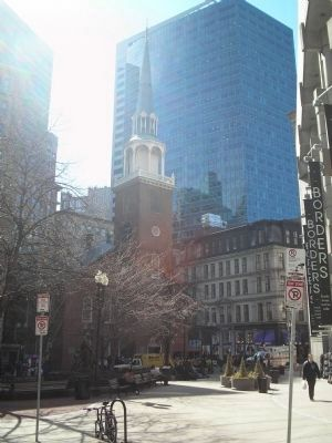 Along the Freedom Trail image. Click for full size.