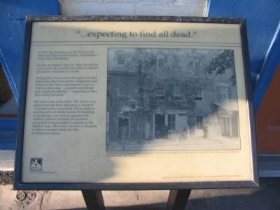 """...expecting to find all dead."" Marker image. Click for full size."