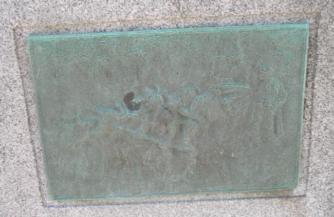 Closeup of Plaque image. Click for full size.