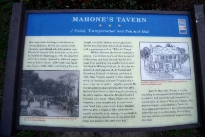 Mahone's Tavern CWT Marker image. Click for full size.