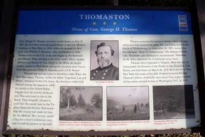 Thomaston CWT Marker image. Click for full size.