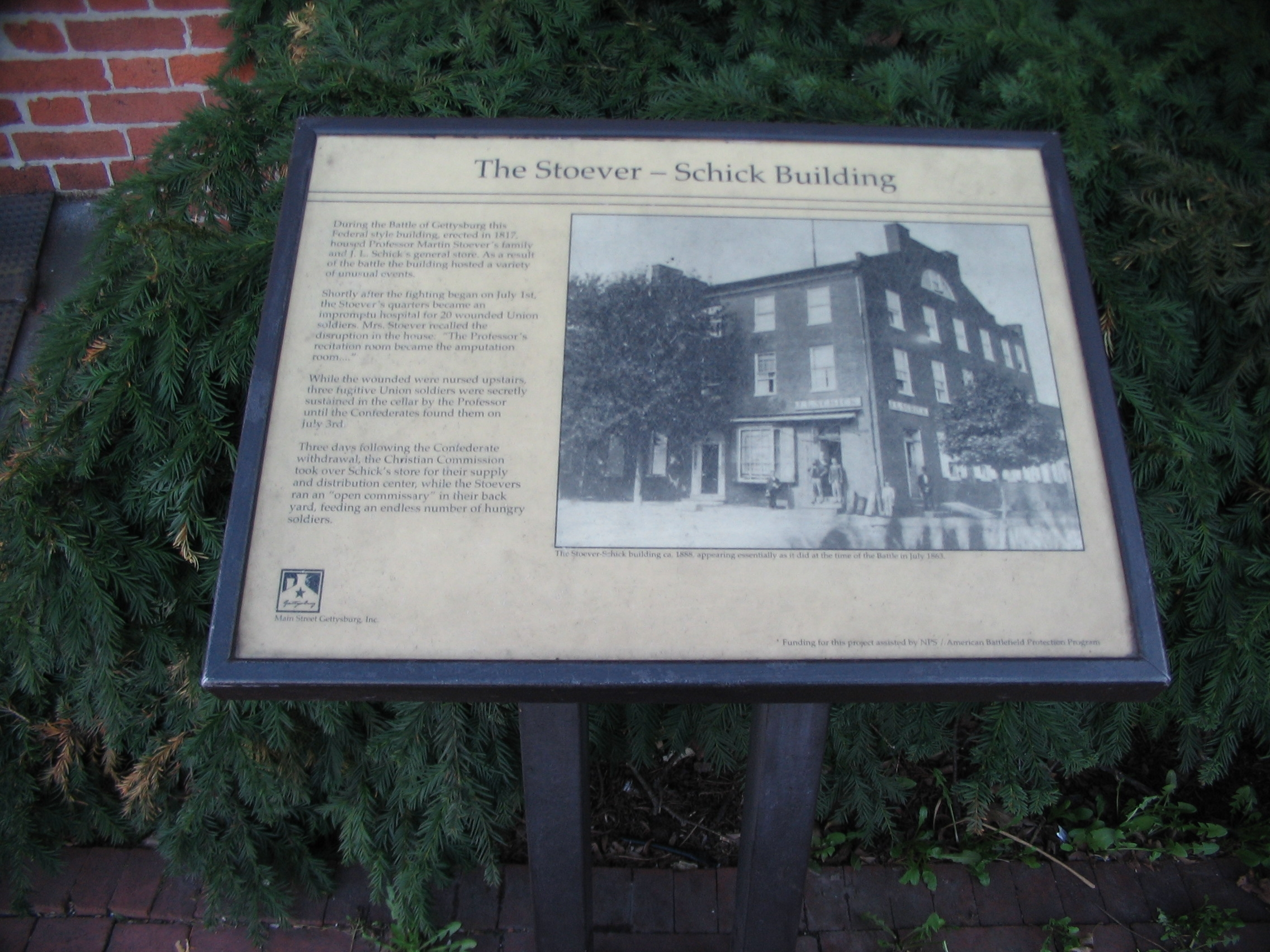 The Stoever - Schick Building Marker