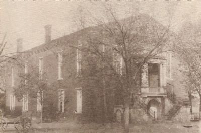 Abbeville County&#39;s Fifth Courthouse<br>1872-1908 image. Click for full size.