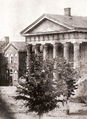 Abbeville County&#39;s Third Courthouse<br>1829-1853 image. Click for full size.