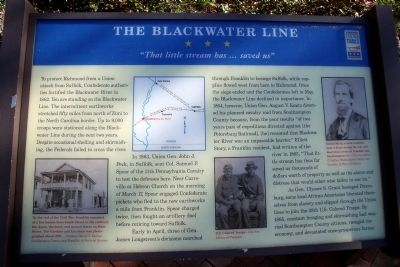 The Blackwater Line CWT Marker image. Click for full size.
