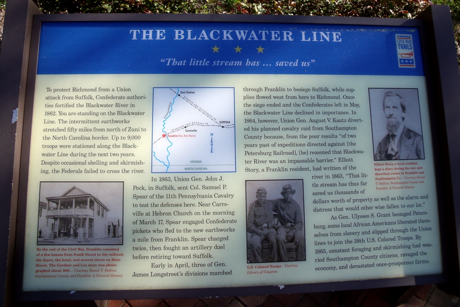 The Blackwater Line CWT Marker