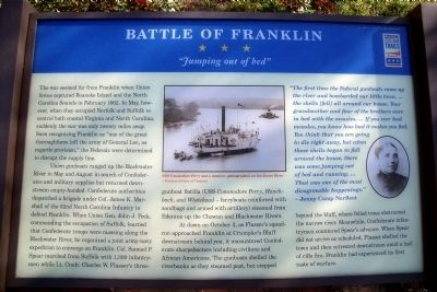 Battle of Franklin CWT Marker image. Click for full size.
