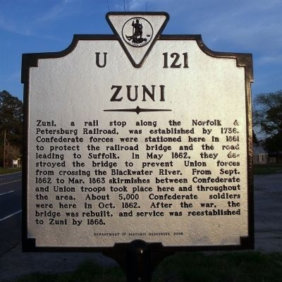 Zuni Marker image. Click for full size.