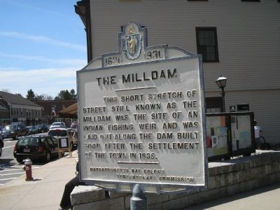 The Milldam Marker image. Click for full size.