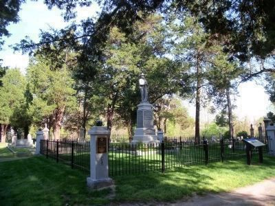 Monument to the Confederate Dead image. Click for full size.