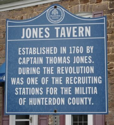 Jones Tavern Marker image. Click for full size.