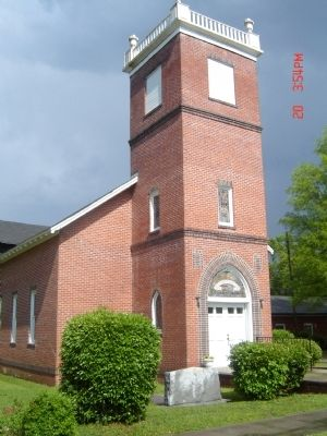 G.W. Long Memorial Presbyterian Church image. Click for full size.