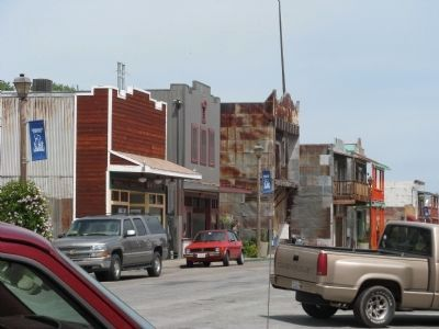 Isleton's Historic Main Street Buildings image. Click for full size.