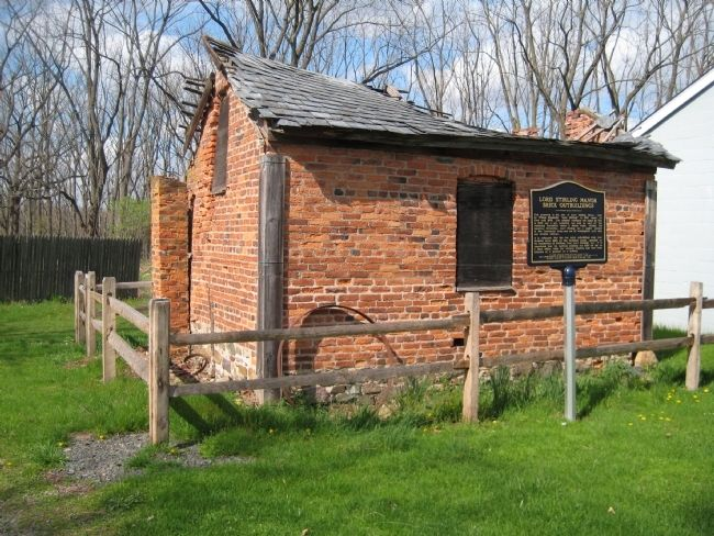 Lord Stirling Manor - Easterly Brick Outbuilding image. Click for full size.