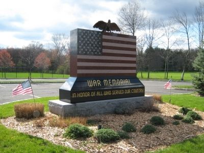 Bernards Township War Memorial image. Click for full size.