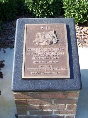 In Honor Of All Veterans Marker. Plaque 2 image. Click for full size.