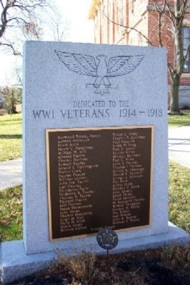 Delaware County World War I Memorial image. Click for full size.