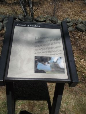 Thorning Boulder Marker image. Click for full size.
