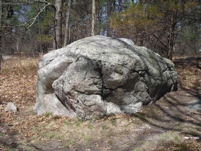 Minute Man Boulder image. Click for full size.