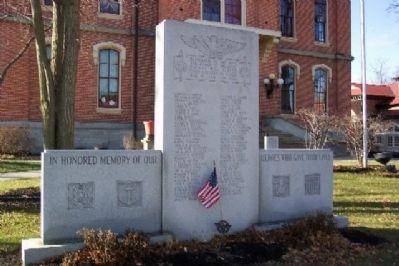 Delaware County World War II Memorial image. Click for full size.