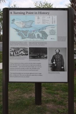 A Turning Point In History Marker image. Click for full size.