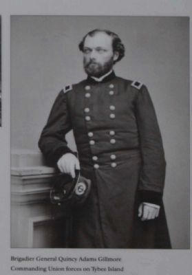 Brigadier General Quincy Adams Gillmore image. Click for full size.