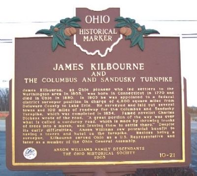 James Kilbourne Marker (Side A) image. Click for full size.