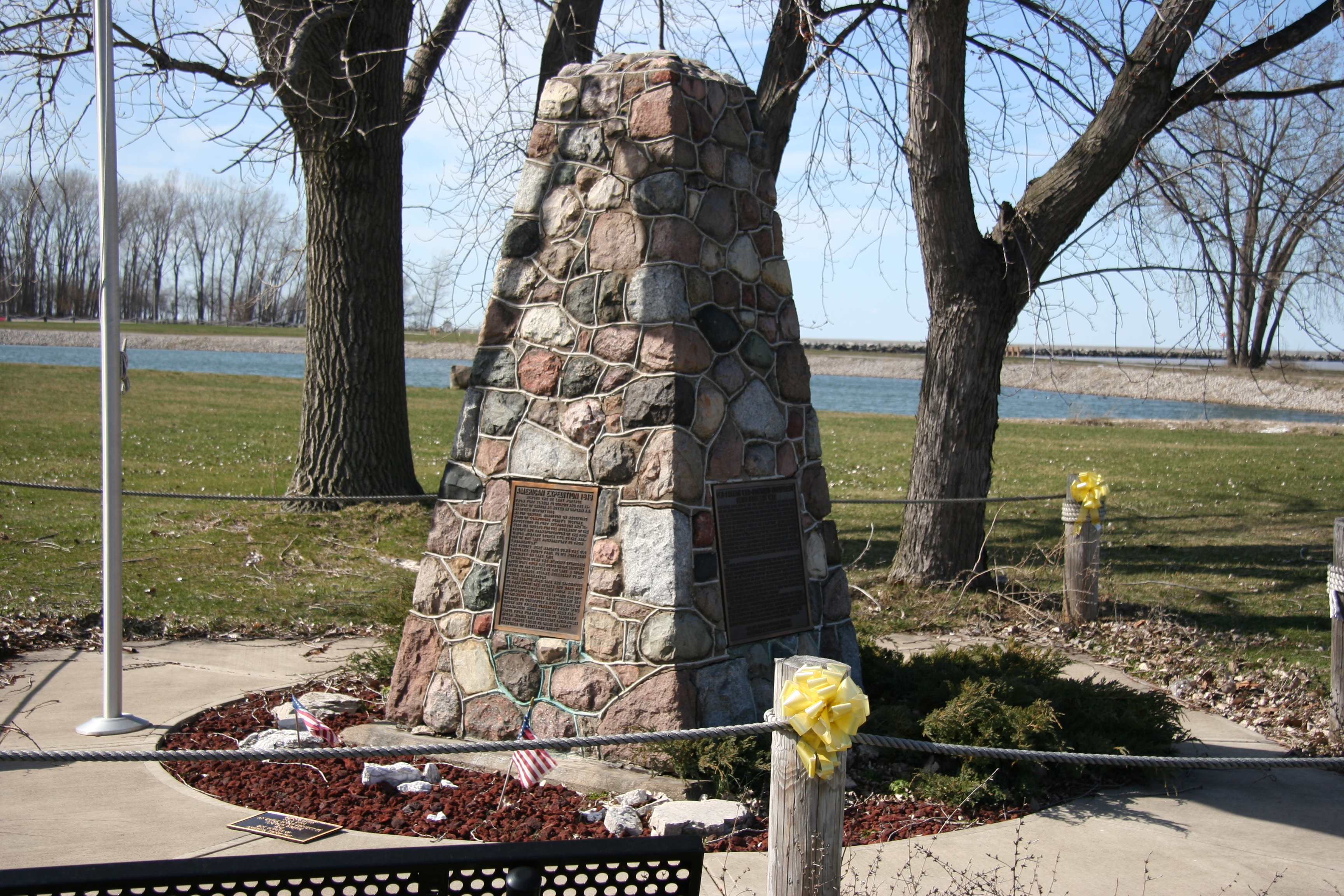 De Lery Portage, War of 1812 Marker